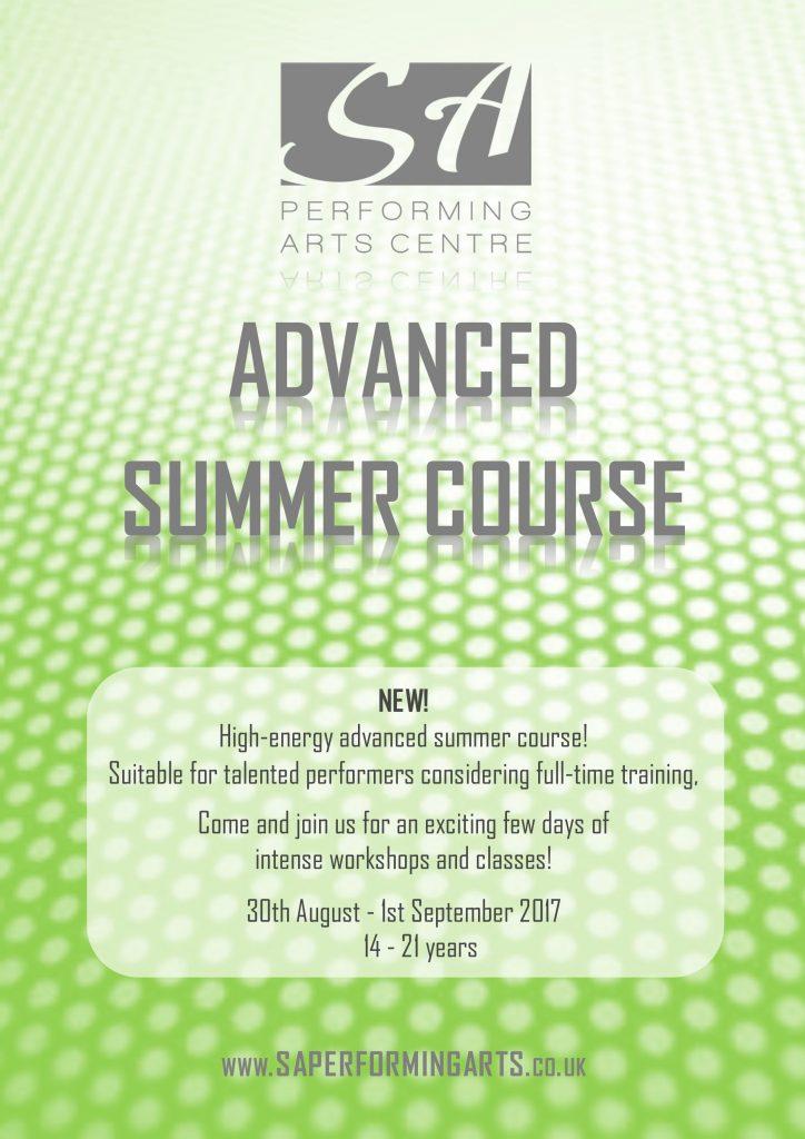 SA Advanced Summer Course
